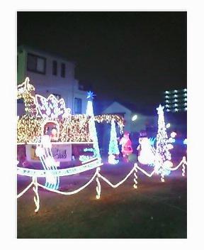 飯能銀座商店街のクリスマスイルミネーション