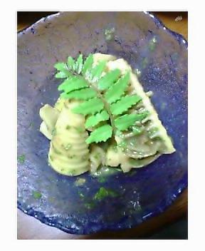 春の香り…タケノコの木の芽あえ