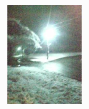 ロマンチックな雪降るひなまつりの夜に