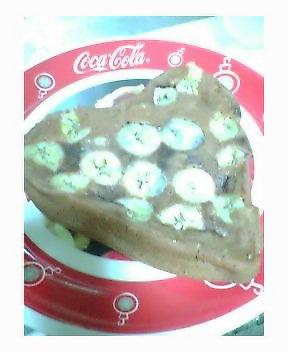 チョコバナナケーキ作った☆