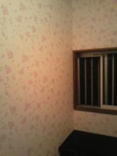 自宅玄関壁紙完了!
