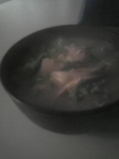 鶏皮と季節の根菜のあったかコラーゲンスープ♪