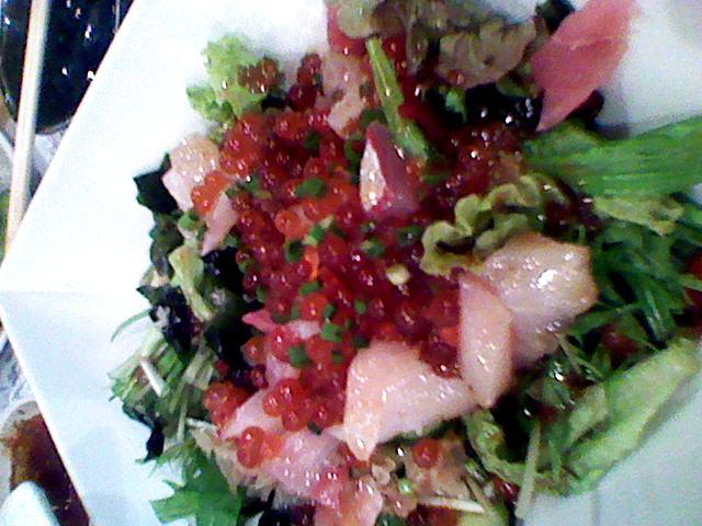 鰓呼吸サラダ